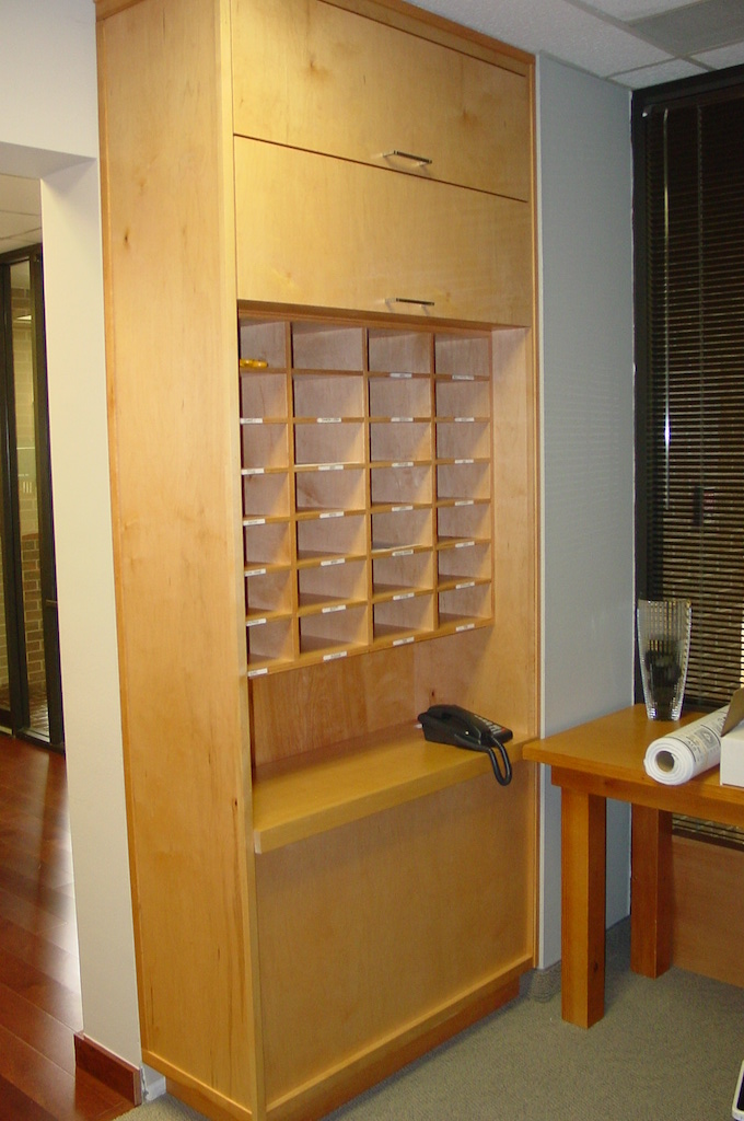 Office mailroom