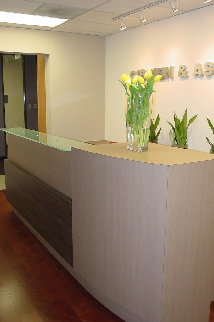 Office recenption desk