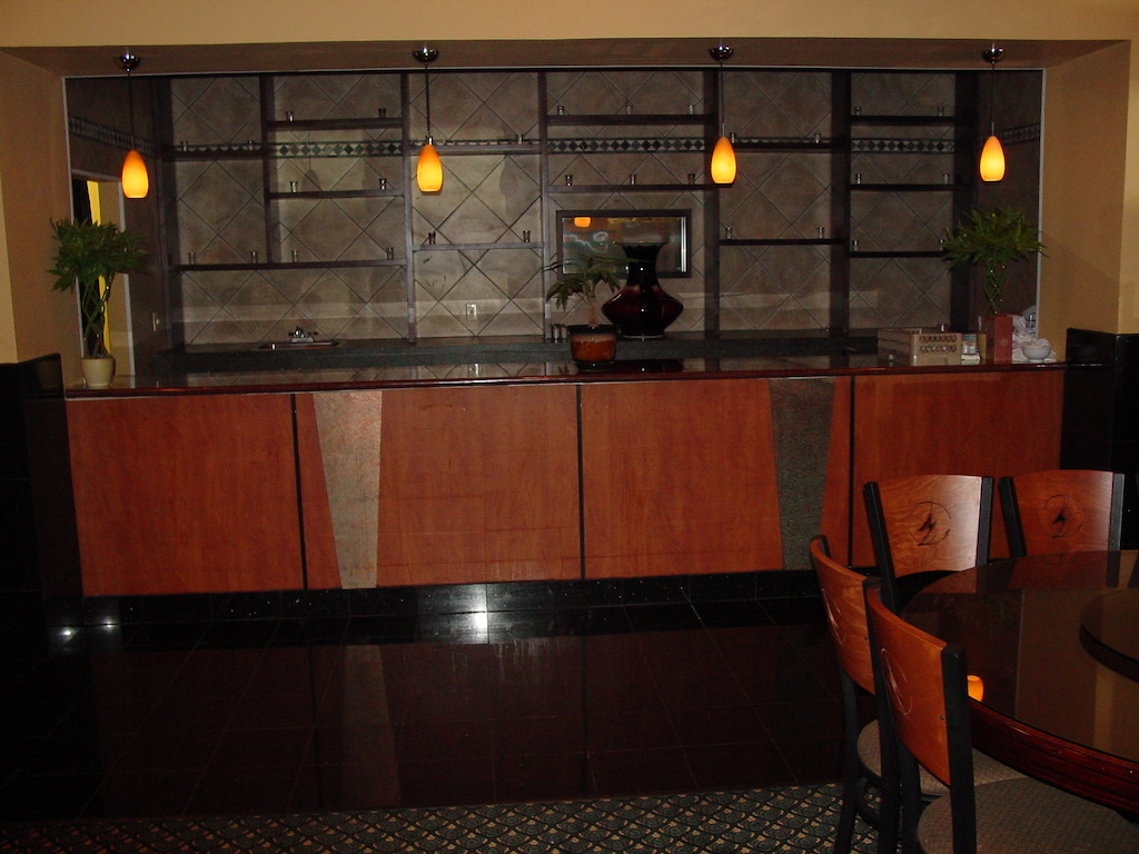 Restaurant display-millwork