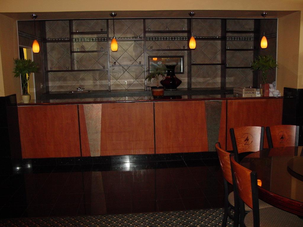 Restaurant display-millwork